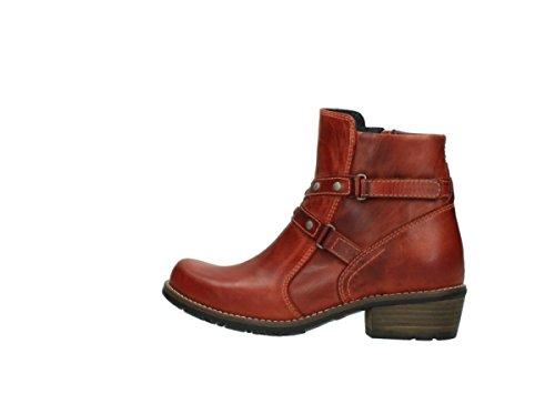 Wolky Comfort Stiefel Chico 850 rot Leder