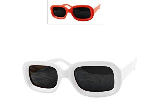 48dbc3abe5 O2 Eyewear 7420 New Pop Classic Dark Mod Square Lens Kurt Cobain Nirvana  Bold Retro Vintage