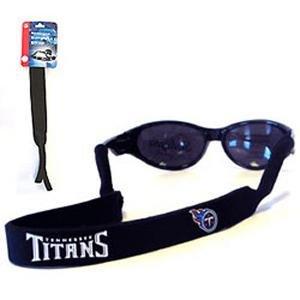 Tennessee Titans Neoprene Strap Holder Croakies for Sunglasses or Eyeglasses Officially Licensed NFL Football Team Logo by Siskiyou