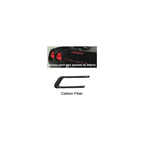Eckler's Premier Quality Products 25126443 Corvette Rear Bumper Lettering Kit Carbon (Carbon Fiber Corvette Parts)