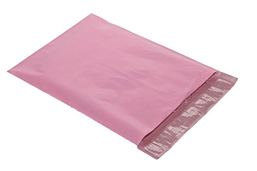 Pale Pink Poly Mailers Shipping Bags Boutique Couture Envelopes Poly Pak Brand 100 ()
