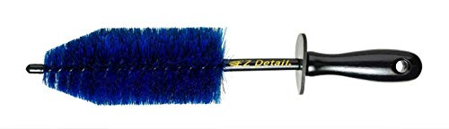 - EZ Detail Brush Little - Wheel Rim Cleaner for Cars, Bike, Trucks, Motorcycle, and Other Vehicles. Non-Scratch Auto Detailing Tool, Easily reaches Nook and Crannies