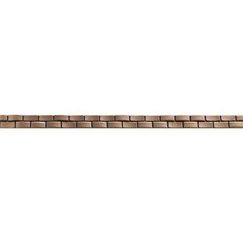 Marazzi Metal Mania Wave Liner Decorative Accents, 3/4 x 13, Bronze