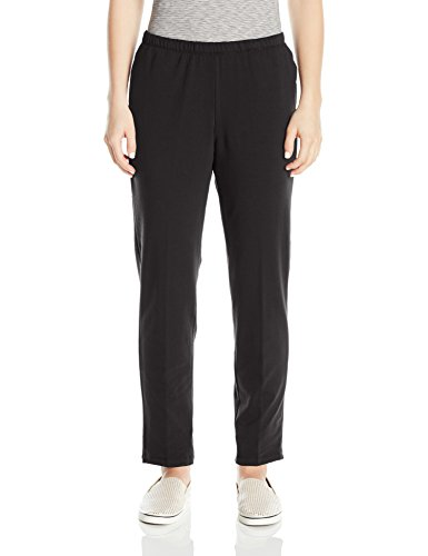 Plus French Terry Pants (Ruby Rd. Women's Plus Size Pull-on Stretch French Terry Pants, Black, 3X)