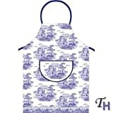 Spode - Blue Italian Cotton Apron