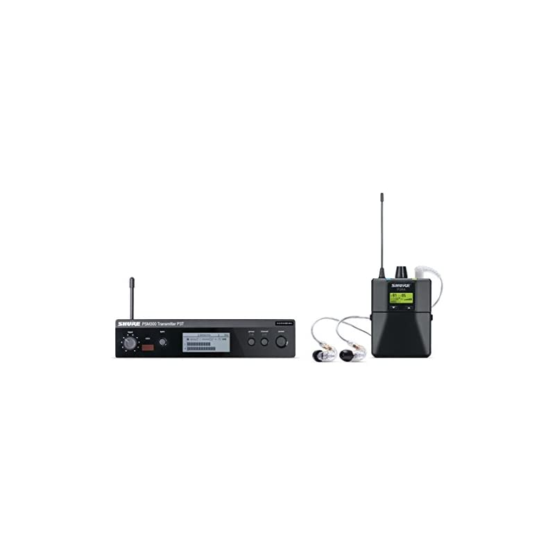 Shure P3TRA215CL PSM300 Wireless Stereo