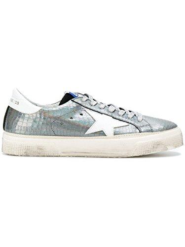 more photos e84a6 718a0 Golden Goose Sneakers Donna G32WS127H9 Pelle Argento