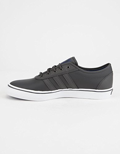 Adidas Original Mens Adi-lätthet Snörning Gymnastiksko Kärna Svart / Skodon Vit / Kärna Svart Mocka
