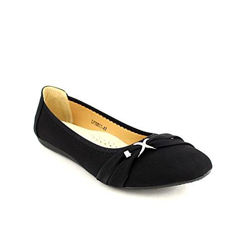 Cendriyon Ballerine LIBRAPOP Femme Noire Chaussures xqf4YFwq