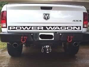 Power Wagon Stickers >> Amazon Com Dodge Power Wagon Decal Black Default Color Automotive