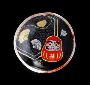Aderia Japan Japanese Small Dishだるま6067 B07P45GRNS