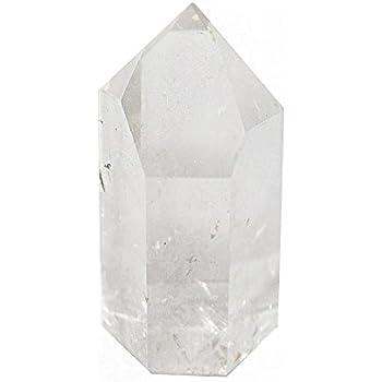 ONE (1) Polished Crystal Quartz Point - Crystal Quartz Point - Reiki - Metaphysical - Rock Paradise Exclusive COA