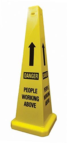 Cortina 03-600-02 Lamba 'Danger People Working' Above Cone, 36