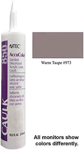 TEC Accucolor–973Warm Taupe Sanded Caulk