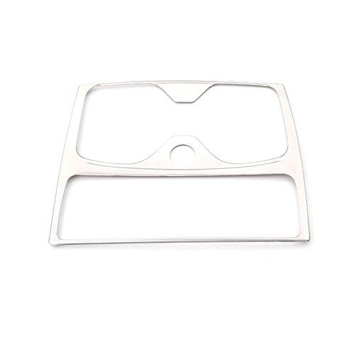 Int/érieur en acier inoxydable Cadre support pour tasse deau Coque Trim 1 pcs pour accessoire de voiture BM12S