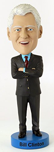 Royal Bobbles Bill Clinton Bobblehead