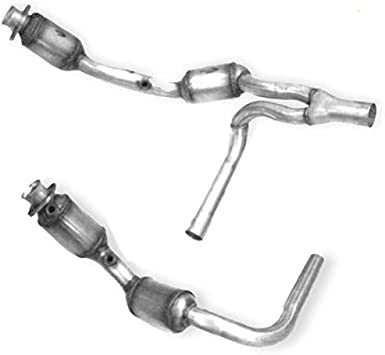 FOR 07-09 JEEP WRANGLER JK 3.8L PERFORMANCE CATALYTIC CONVERTER EXHAUST Y-PIPE