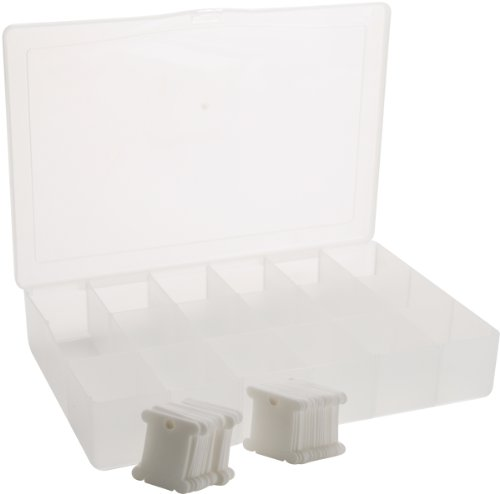 - One Box of 50 Plastic Bobbins Floss & Needlecraft Organizer