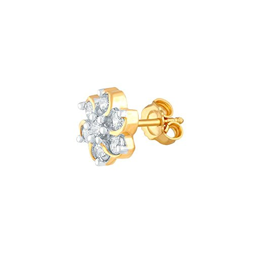 Giantti Diamant pour femme de petite taille Kudi Boucles d'oreilles (0,58CT, VS Clarté, Gh-colour)