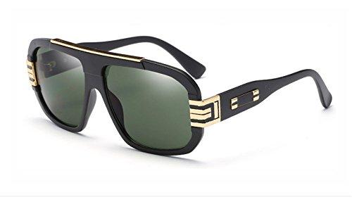 de Hombre con Vintage Mujer Degradado y de Black Gafas para Estilo Vizink Bright Black Sand Sol Puntos I1gP4U
