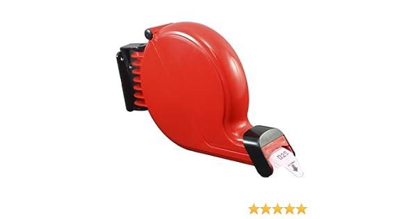 Dispensador de tickets su turno color rojo (Rojo, Dispensador de plástico): Amazon.es: Hogar