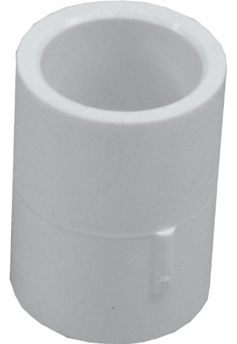 Genova Products 30105CP 1/2-Inch PVC Pipe Coupling - 10 Pack
