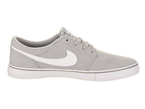 Men's High Grey Solar Sb White Nike Ankle black Ii Canvas Skateboarding Shoe Portmore Wolf dgUpwY