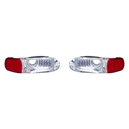 Fits Mitsubishi Eclipse 2000-2005 Backup Taillight Assembly Diamond Pair Driver and Passenger Side MI2889101