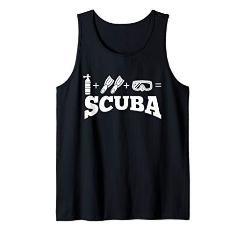Creative Scuba Diving Shirt Ocean Diver And Snorkeling Tank ()
