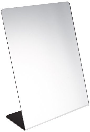 Sax Free-Standing and Single-Sided Self-Portrait Mirror - 8 1/2 x 11 inches - Standing Portrait