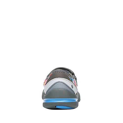 BZees Womens Lifetime Fabric Low Top Zipper Fashion Sneakers Multi Neon Floral I1vTb4E7fH