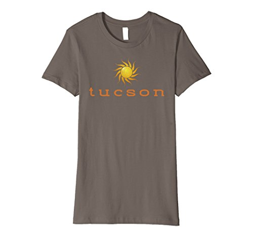 Womens Vintage Tucson AZ Sunshine Distressed Premium T Shirt Large - Premium Tucson