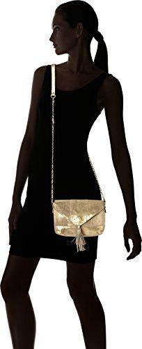 Body cm B Cross Womens Pcsilana Bag 5x14x20 Colour PIECES Gold T 5 H Leather x Gold xqPRT7pI