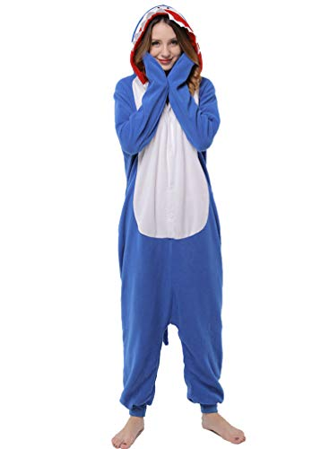 ROYAL WIND Adults Stitch Onesie Halloween Costumes Sleeping Wear Pajamas (X-Large, Stitch) -