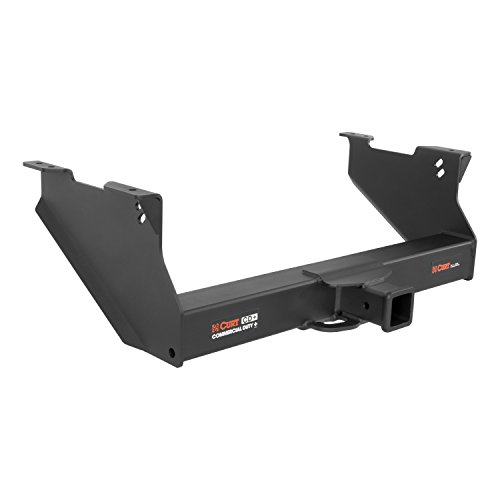 Curt 15809 Commercial Duty Black 2-1/2 Class 5 Trailer Hitch Receiver for 03-08 Dodge Ram 1500, 03-18 2500, 03-13 3500