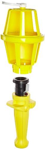 Woodhead 118S Super-Safeway Handlamp, Industrial Duty, Incandescent Bulb, 100W Max Lamp Wattage, Switch, 16/3 SOOW Cord Type by Woodhead (Image #1)