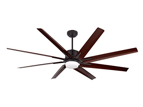 Emerson Ceiling Fans CF985ORB Damp Rated Aira Eco Modern Ceiling Fan with Light and Wall Control, Oil Rubbed Bronze Finish