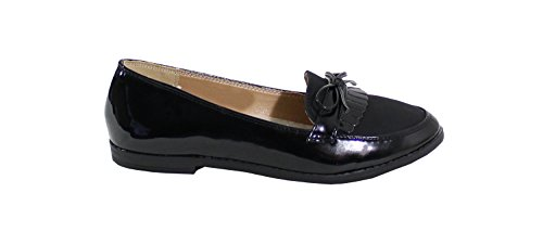 By Shoes Mocassini Donna, Nero (Nero), 37 EU