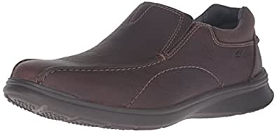 Clarks Men's Cotrell Step Slip-on Loafer,Brown Oily,7 M US