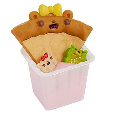 Num Noms Snackables Pizza Theme Kit with Scented Slime Surprises, Multicolor: Toys & Games