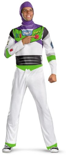 Buzz Lightyear Adult Costume - (Buzz Lightyear Costume Mens)