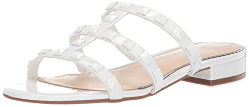 Jessica Simpson Women's CAIRA Sandal, Bright White, 10 M US ()