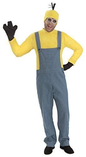 Princess Paradise Men's Minions Deluxe Kevin Costume Jumpsuit, As As Shown, -