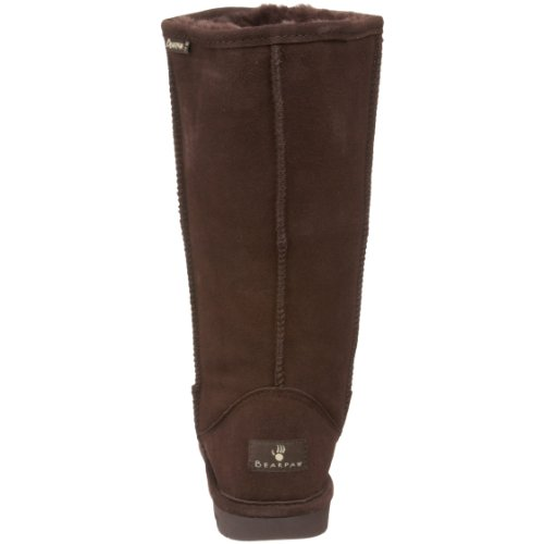 Bearpaw Dames Emma Tall Fashion Laars Chocolade