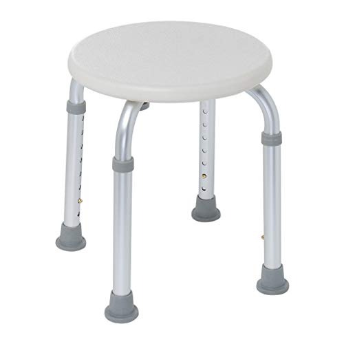 BeautyShe Clearance Medical Tool - Free Assembly Adjustable Shower Stool Tub Chair and Bathtub Seat Bench with Anti-Slip Rubber Tips for Safety and Stability