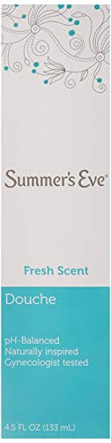 (Pack of 6 Bottles) Summer's Eve Fresh Scent Douche Vinegar & Water, Feminine Wash, 4.5oz Bottles. PH Balanced, Naturally Inspired, Gynecologist Tested (Pack of 6 Bottles, 4.5oz Each Bottle) (Summers Eve Vinegar Douche For Yeast Infection)