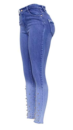 Unique 10 Femme Jeans Skinny Taille Barfly Fashion Design 8qzgn0X