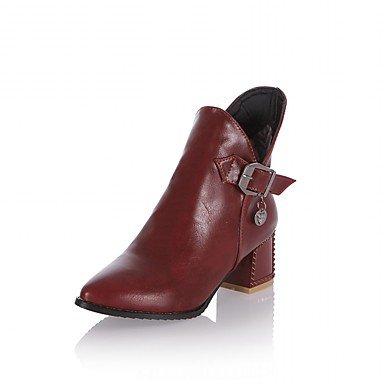 De donna-tacchi-matrimonio/Oficina y Trabajo/vestir/Casual/planeta y festa-tacchi/botas de nieve/Botines/Punta/, marrón marrón
