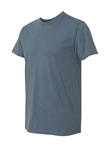Next Level mens Next Level Premium CVC Crew(N6210)-INDIGO-L (Indigo Ringspun Jeans)