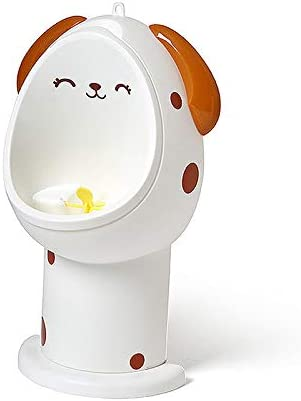 Nuxn Cute Dog Potty Toilet Training Urinal with Whirling Target ...